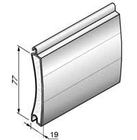 AG / 77 - Алюмінієвий профіль з м'яким пінним наповнювачем