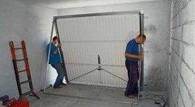 Виготовлення підйомних гаражних воріт своїми руками