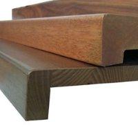 Установка дерев'яного підвіконня на балконі - ПанОкна