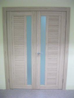 Установка дверей у Володимирі і області.  Особливості установки орних (двопільних, двостулкових дверей)