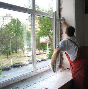 установка вікон