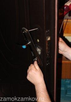 Заміна та ремонт замків в міжкімнатні двері
